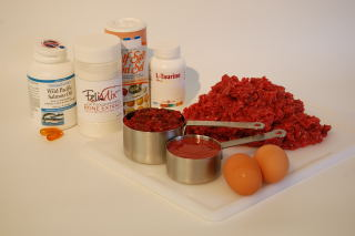 Original raw cat food recipe tcfeline raw cat food the ingredients necessary for this recipe forumfinder Choice Image